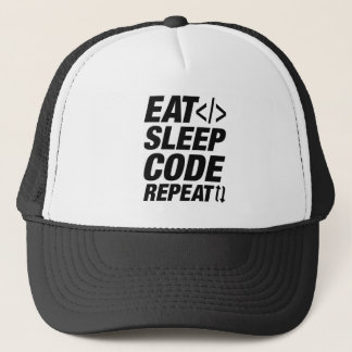 Boné Coma a repetição do código do sono