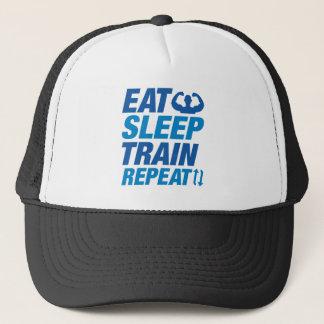 Boné Coma a repetição do trem do sono