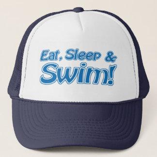 Boné Coma, durma & nade! Chapéu