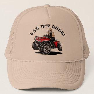 Boné coma minha poeira, ancião em 4 chapéus engraçados