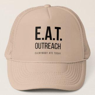 Boné COMA o chapéu do camionista do Outreach