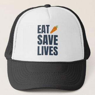 Boné Coma o Vegan - vidas das economias