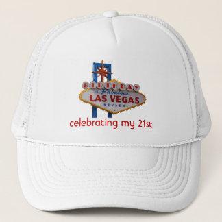 Boné Comemorando meu chapéu de Las Vegas do aniversário