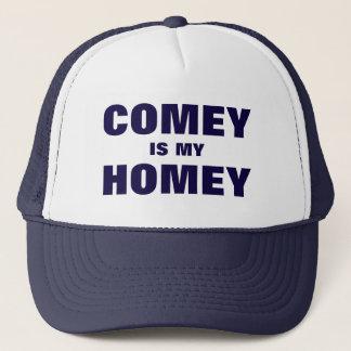 Boné Comey é meu texto doméstico do azul das citações