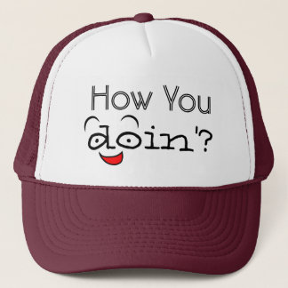 Boné Como você o chapéu do camionista engraçado do