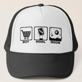 Boné Compre a lua de Hodl