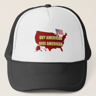 Boné Compre América!  Contrate América!
