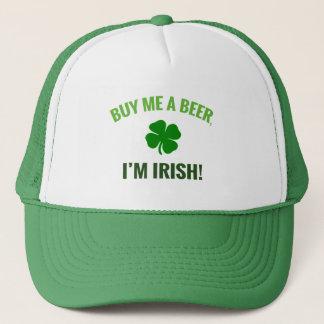 Boné Compre-me uma cerveja, mim são irlandês