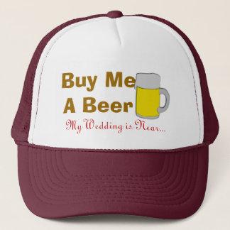 Boné Compre-me uma cerveja que meu casamento está