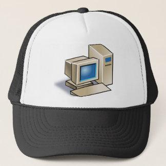 Boné Computador retro