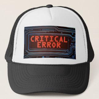 Boné Conceito do erro crítico