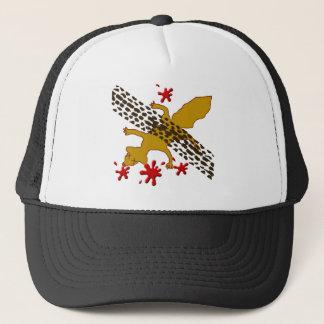 Boné conde o chapéu inoperante do esquilo