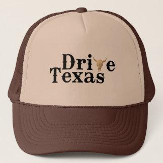 Boné Conduza o chapéu de Texas Brown