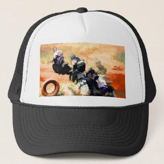 """Boné """"Conduzindo pilotos da Sujeira-Bicicleta do"""
