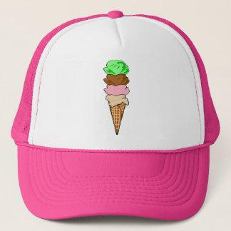 Boné Cone do sorvete