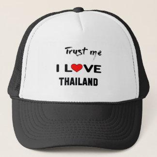 Boné Confie-me amor Tailândia de I