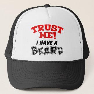Boné Confie-me! Eu tenho um chapéu da BARBA