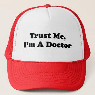 Boné Confie-me, mim são um doutor
