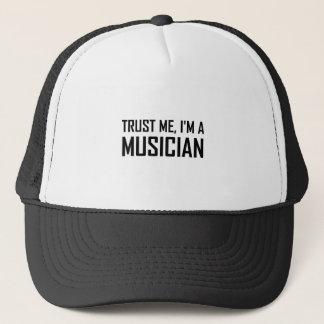 Boné Confie-me músico
