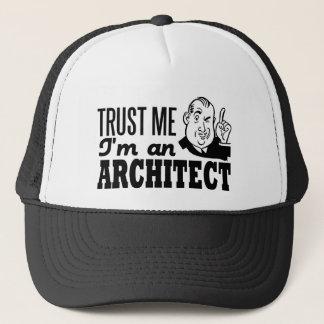 Boné Confie que eu mim é um arquiteto