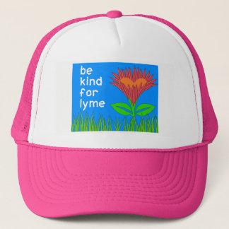 Boné Consciência da doença de Lyme - chapéu do