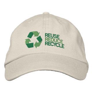 Boné Consciência do ambiente do reciclar