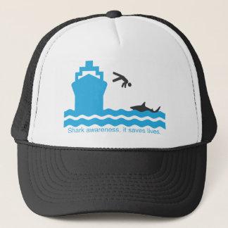 Boné consciência do tubarão