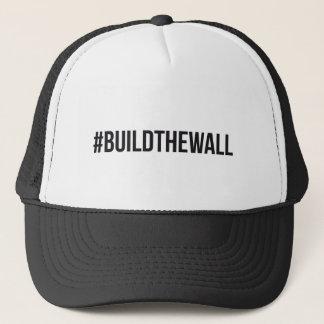 Boné Construção do #BuildTheWall o trunfo Hashtag E.U.