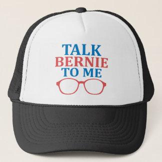 Boné Conversa Bernie a mim