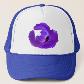 Boné Cor aumentada roxo da flor do hibiscus variável