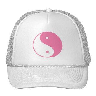 Boné cor-de-rosa de Yin-Yang