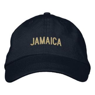 Boné Cor lisa simples do costume da palavra de Jamaica