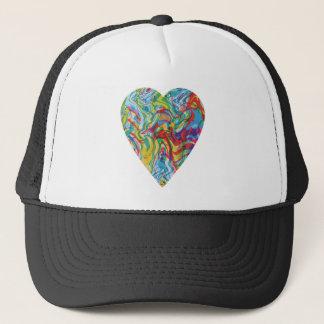 Boné Coração #2 da arte do pulso aleatório