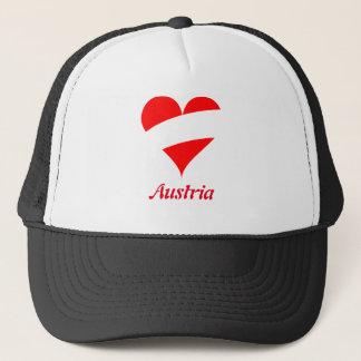 Boné Coração austríaco