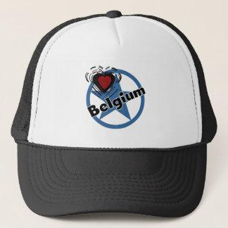 Boné Coração Bélgica