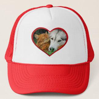 Boné Coração bonito somaliano do amor do rouco Siberian