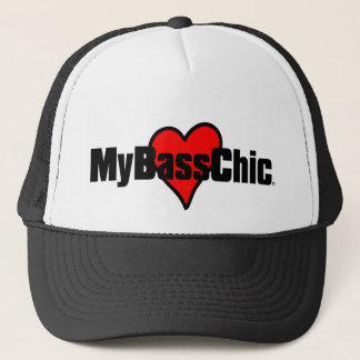 Boné Coração carmesim de MyBassChic (TM)