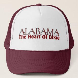 Boné Coração de Alabama de chapéus de Dixie