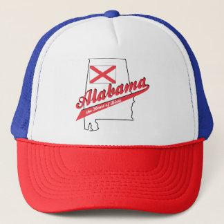 Boné Coração de Alabama de Dixie
