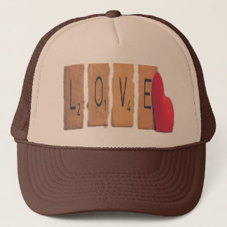 Boné Coração do amor