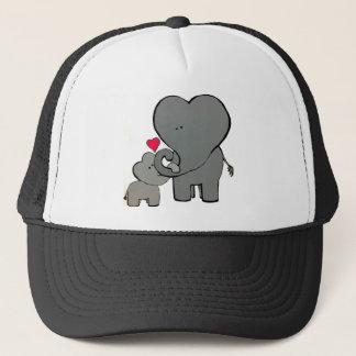 Boné Corações do elefante