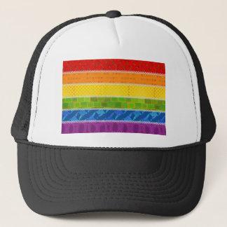 Boné Cores do orgulho gay