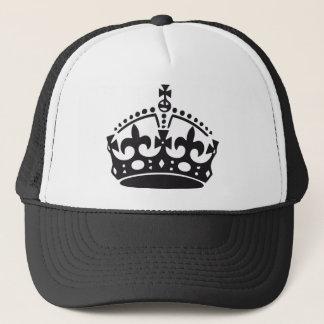 Boné coroa britânica real