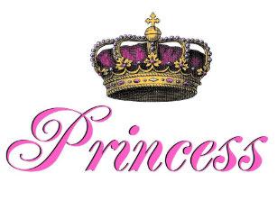 Boné Coroa da princesa no rosa quente cd9bda0d09c