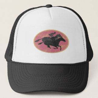 Boné Corrida de cavalos
