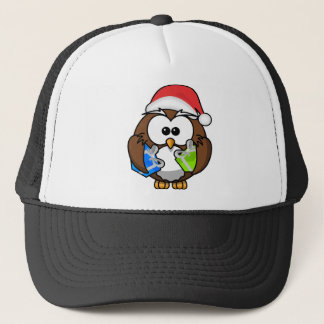 Boné Coruja do Natal