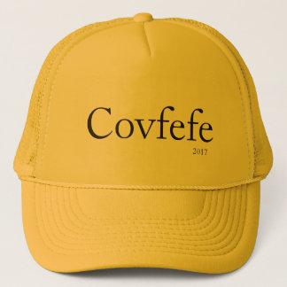 Boné Covfefe, 2017