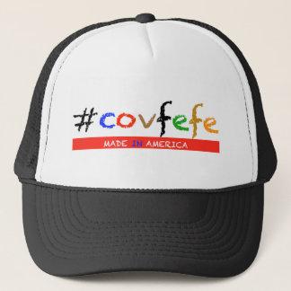 Boné #covfefe feito em América