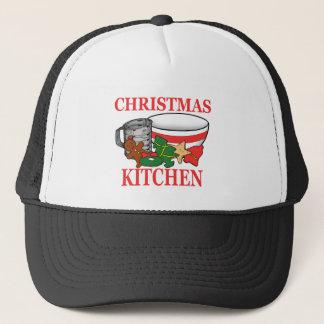 Boné cozinha do Natal