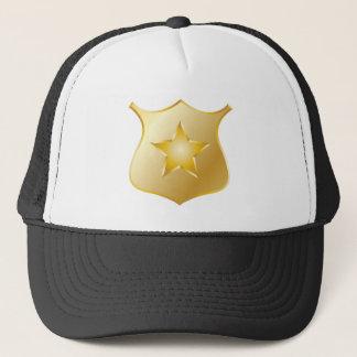 Boné Crachá da polícia do ouro